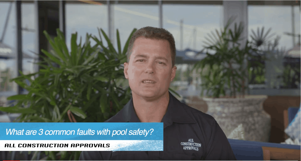 Do you know what the 3 most common faults with pool safety are?