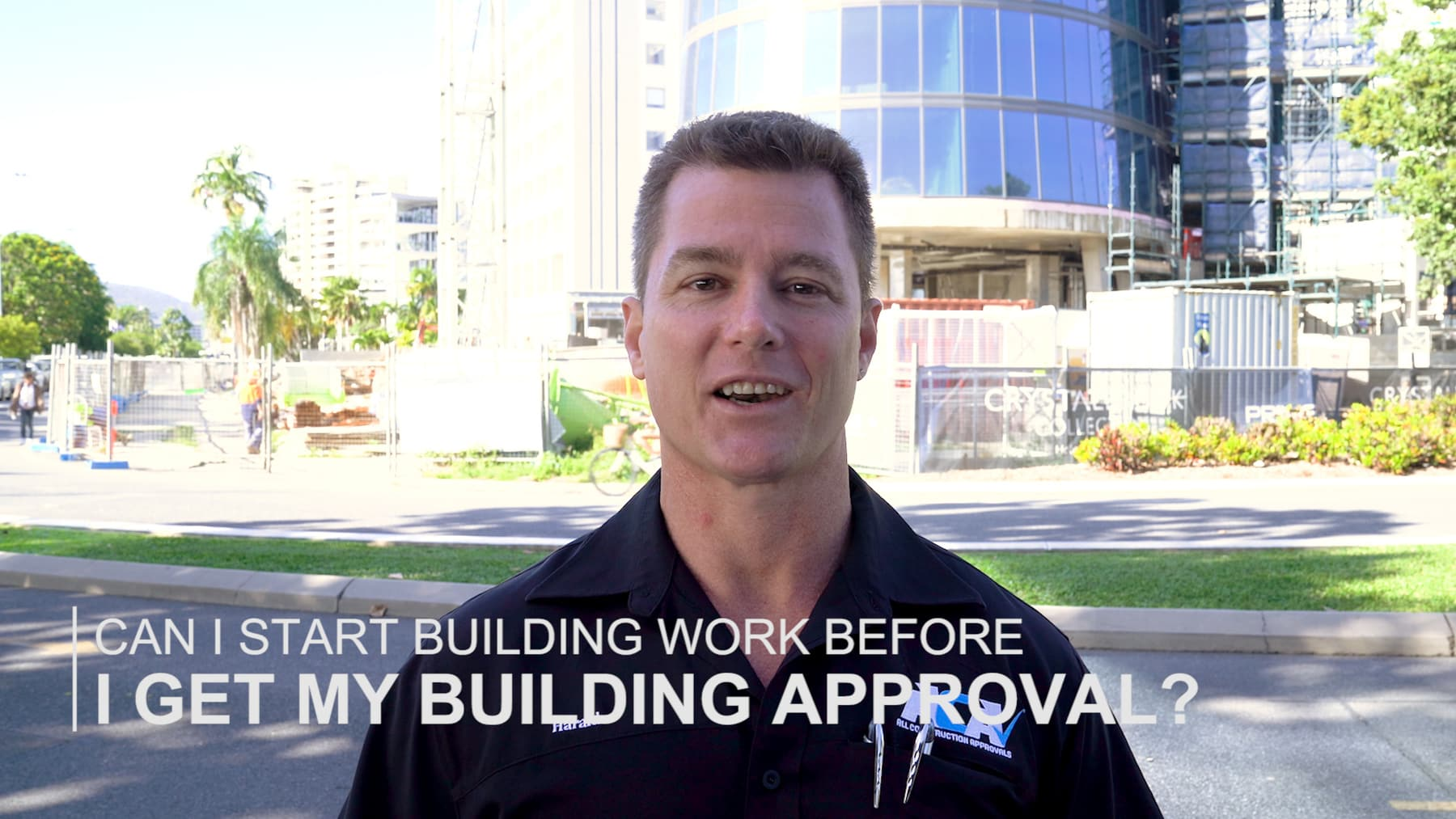 Can I start building work before I get my building approval?